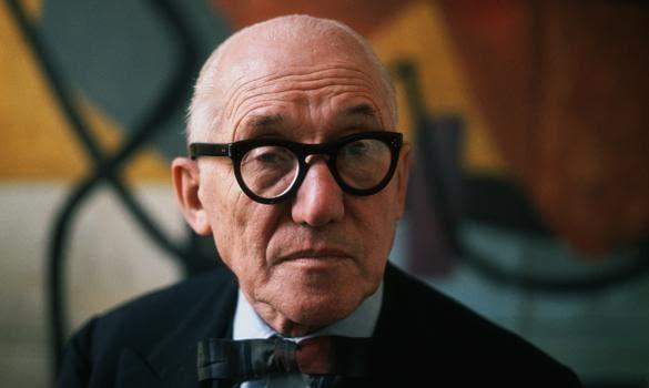 Szwajcarski architekt Le Corbusier