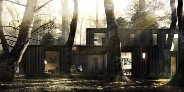 Wyróżnienie: Wizualizacja domu jednorodzinnego, Argentyna, autor: NOTOS