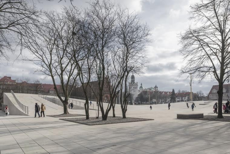 Centrum Dialogu Przełomy, Szczecin, Polska, Robert Konieczny KWK PROMES, nominacja w kategorii budynki zrealizowane, kultura.