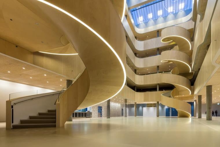 Nowy Szpital Psychiatryczny, Slagelse, Dania, proj. GAPS)Karlsson Architects / VLA, nominacja w kategorii budynek zrealizowany, zdrowie.