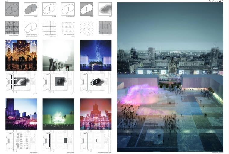 Wyniki konkursu na projekt placu Centralnego w Warszawie