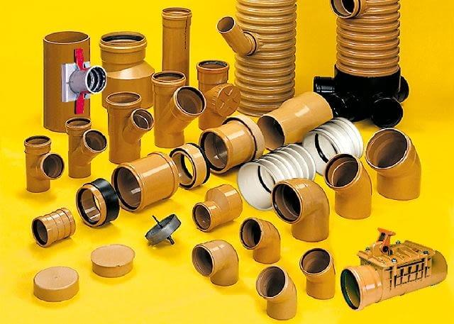 Elementy zewnętrznej instalacji kanalizacyjnej są odporne na zwiększone obciążenia mechaniczne