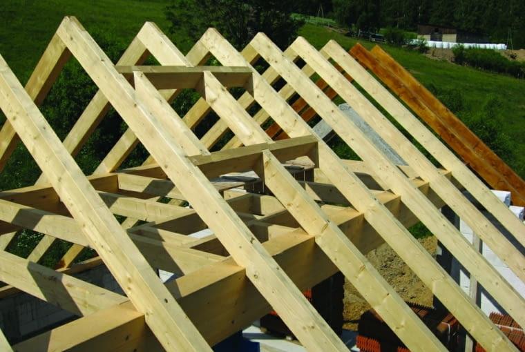 więźba dachowa, dach, budowa domu