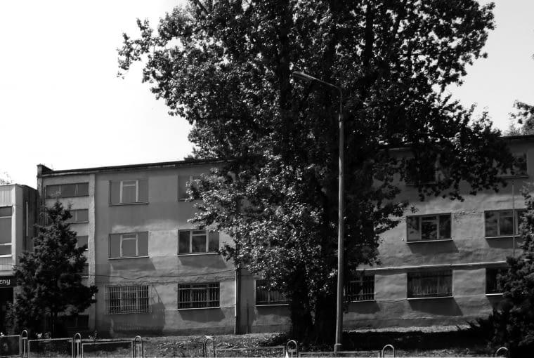 Budynek Porcelana Śląska Park 1 przed modernizacją