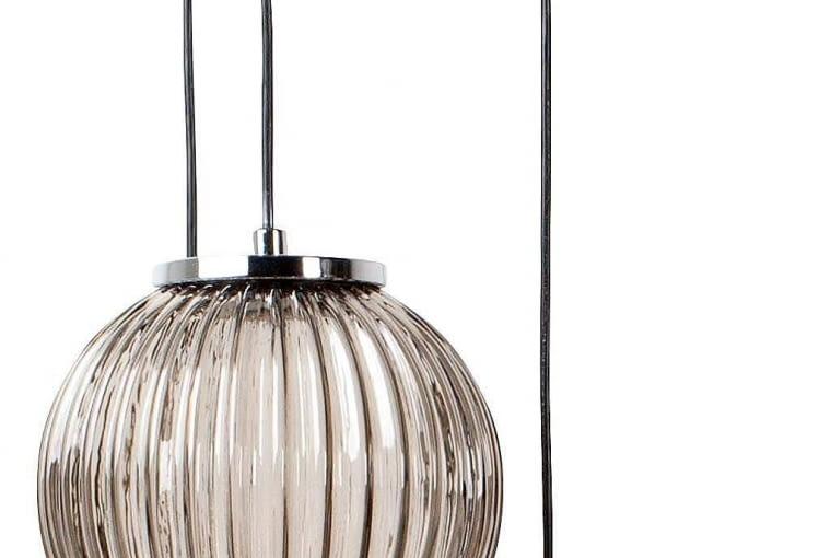 Lampa SPARKLE, dymione szkło i metal, 1339 zł, Zuiver