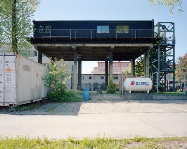 Bolko Loft - dom własny Przemo Łukasika (pracownia Medusa Group), Bytom, 2003