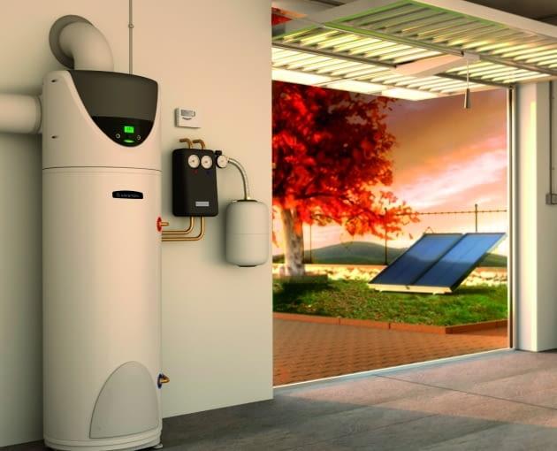 Podczas dużych mrozów przepustnica zamyka kanał doprowadzający powietrze zewnętrzne, co umożliwia pompie pobór ciepła z wewnątrz domu