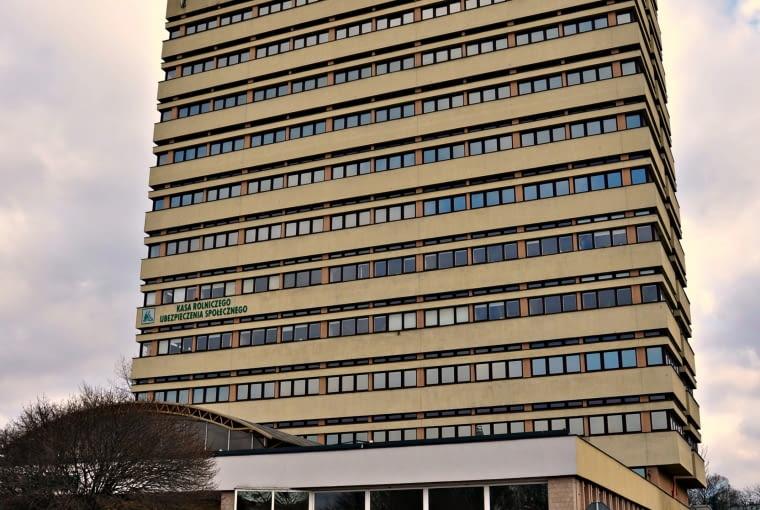 """Budynek WZGS """"Samopomoc Chłopska"""", proj. Bolesław Kardaszewski"""