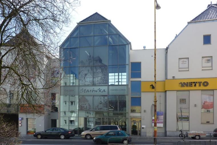 Kamienica - wejście do centrum handlowego , fot. Tomasz Sachanowicz