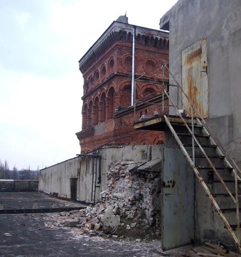 Dawna przędzalnia Izraela Poznańskiego w Łodzi przed rewitalizacją