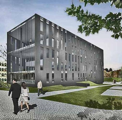 Biblioteka Uniwersytetu w Zielonej Górze, proj. Biuro Architektoniczne NOW Łódź