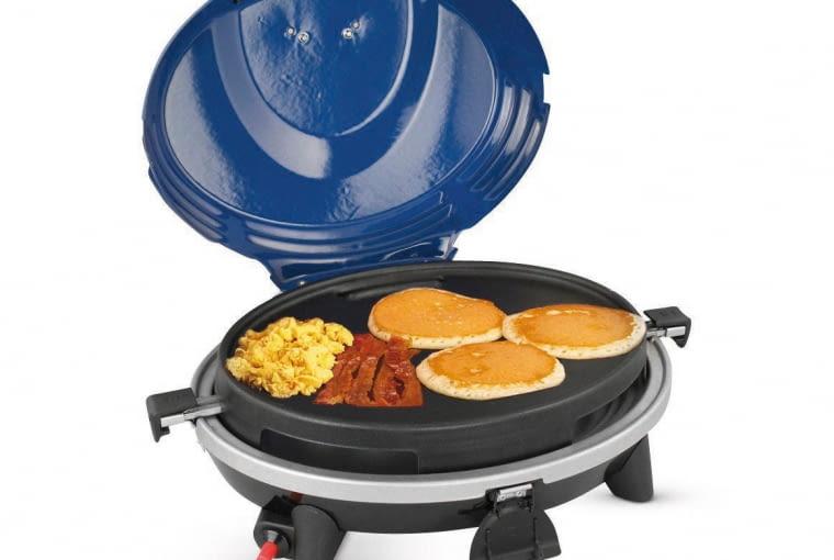 6. wszechstronny model umożliwiający grillowanie, smażenie i podgrzewanie potraw oraz płynów, ok. 320 zł, Jula