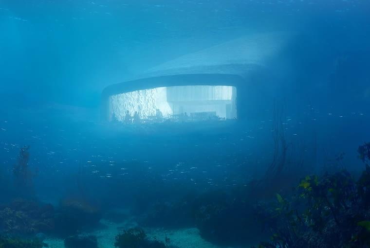 Pierwsza podwodna restauracja w Europie powstanie na południowym wybrzeżu Norwegii.