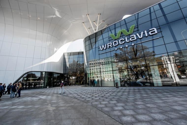 17.10.2017 Wroclaw .Centrum handlowe Wroclavia w przeddzien otwarcia . fot . Kornelia Glowacka-Wolf / Agencja Gazeta SLOWA KLUCZOWE: Wroclavia centrum handlowe