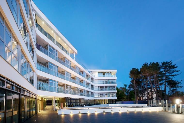 Apartamentowiec Dune w Mielnie, materiały inwestora