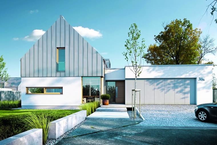projekt domu, elewacja