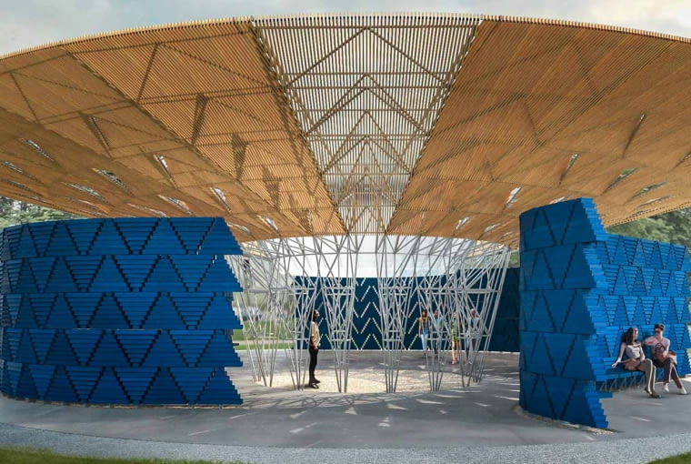 Pawilon Serpentine 2017, projekt: Diébédo Francis Kéré