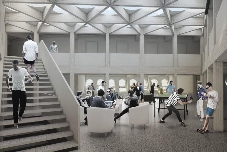 Nowy budynek Polskiej Stacji Antarktycznej im. H. Arctowskiego. Proj. Kuryłowicz & Associates.