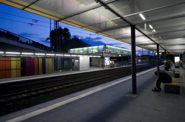Schoyerer Architekten BDA, mała architektura, mała bryła, stacja, przystanek, niemcy, frankfurt