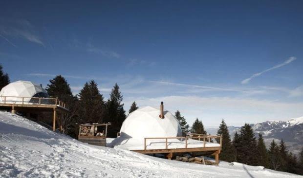 White Pod, Szwajcaria, Glamping
