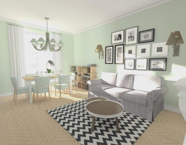 porady architektów, jak urządzić mieszkanie, wizualizacje