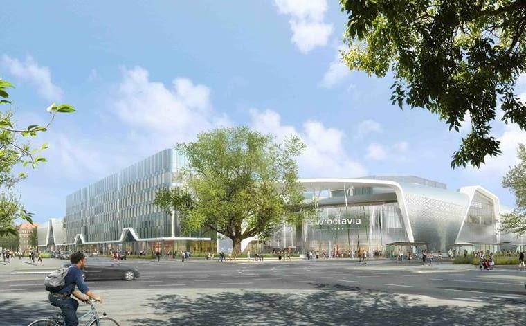 Wroclavia - centrum handlowe, które powstanie na terenie byłego dworca PKS