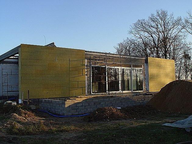 budowa domu, ocieplenie domu