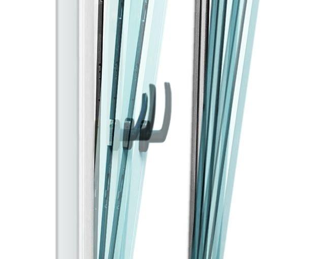 Okno z funkcją stopniowania uchyłu