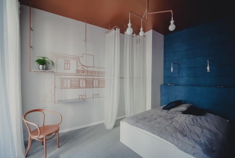 """""""Miedziany"""" pokój w Boutique Hostel Patria"""