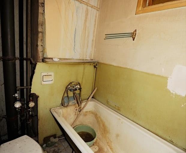łazienka przed metamorfozą, aranżacja łazienki