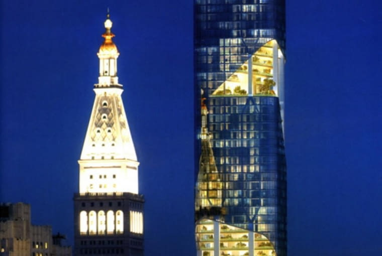Daniel Libeskind, Nowy Jork, wieżowce, apartamentowce