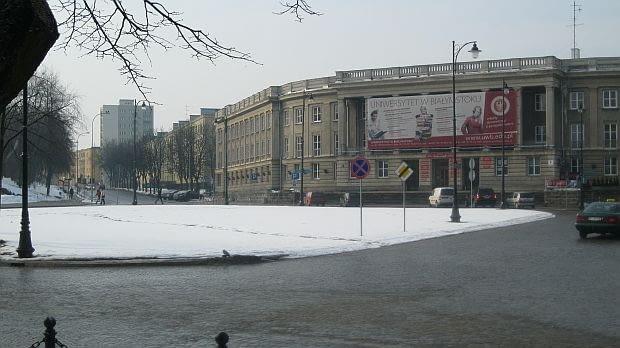 Socrealizm w Polsce: Dawny Dom Partii w Białymstoku, obecnie Uniwersytet