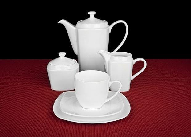 Serwis do herbaty , porcelana