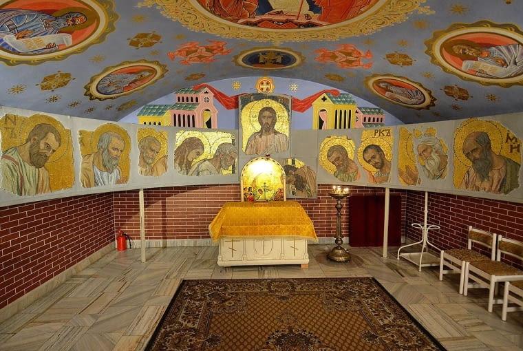 Wnętrza Soboru św. Marii Magdaleny w Warszawie