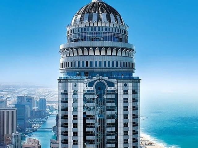 Princess Tower, Dubaj, źródło: www.saffarinidxb.com