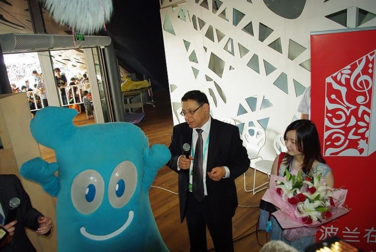 Dwumilionowy gość w Pawilonie Polski na EXPO 2010 w Szanghaju!