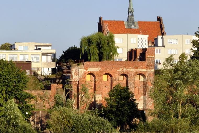 Ruiny Szkoły Łacińskiej w Malborku, źródło: wikipedia