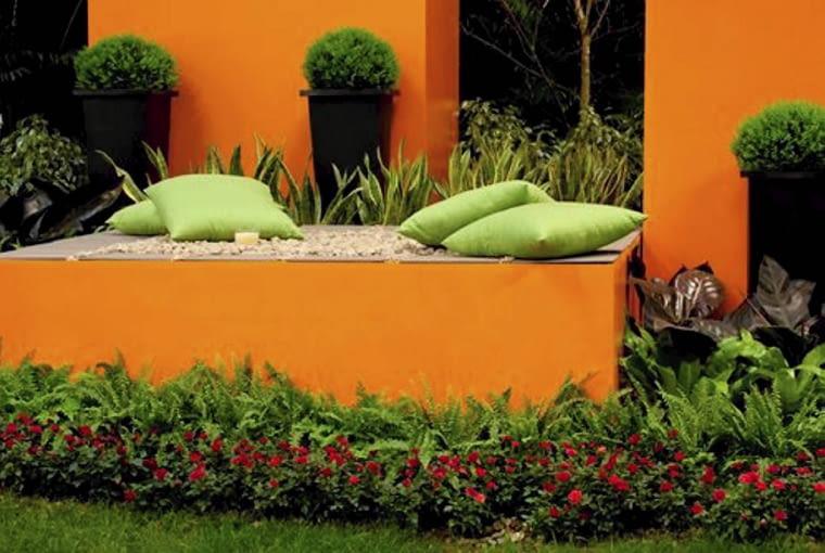 Zdjęcia ciekawych ogrodów.