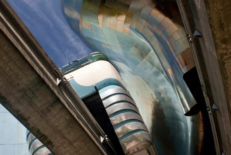 Muzeum Kultury Popularnej w Seattle, USA, projekt: Frank Gehry. Finalista w kategorii: Duch miejsca