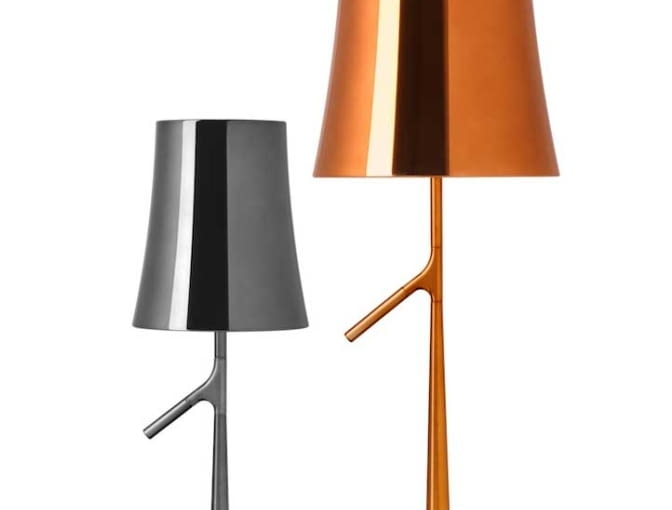 Lampy Birdie Metal, proj. Ludovica i Roberto Palomba