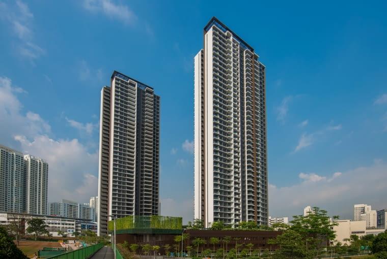 Clement Canopy w Singapurze - najwyższy na świecie wieżowiec z prefabrykatów.