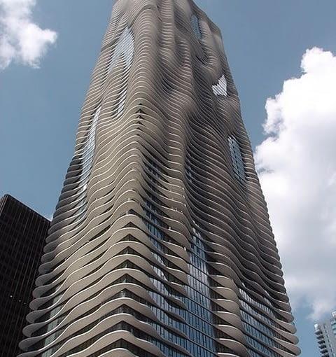 Aqua Tower Chicago, fot. George Showman, CC BY 2.0
