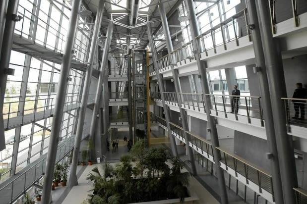 Nowy budynek Wydziału Biologii UG