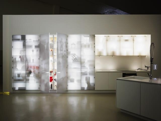 wnętrza, corian, dupont, architektura, Jean Nouvel,