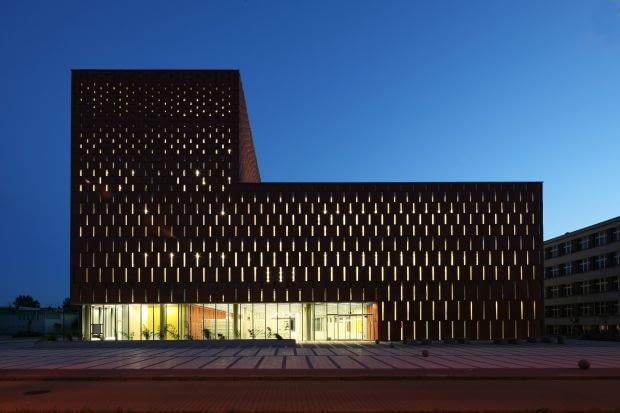 Centrum Informacji Naukowej i Biblioteka Akademicka, Katowice, proj. HS99