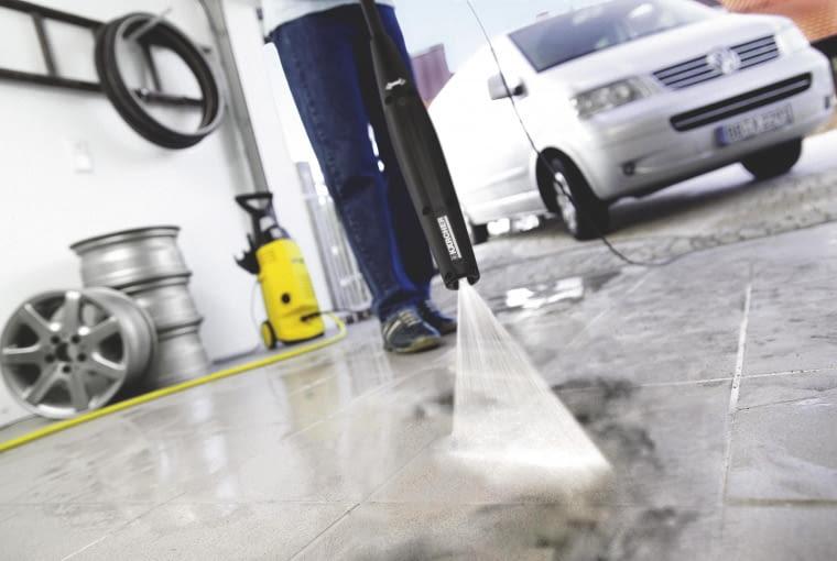 czyszczenie garażu