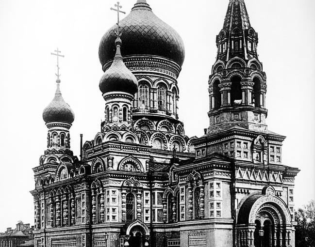 Nieistniejąca warszawska cerkiew św. Michała Archanioła
