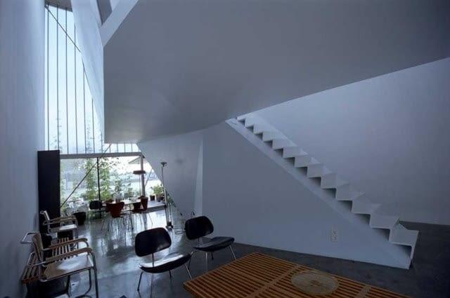 rotterdam, architektura, holandia, budynek, dom jednorodzinny