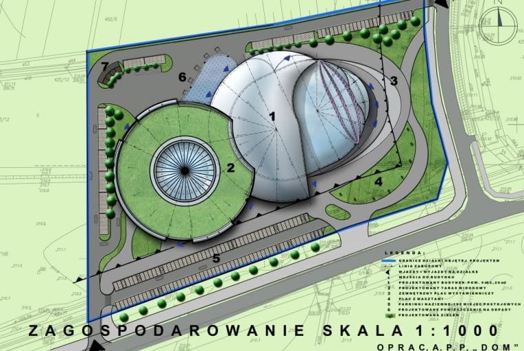 Centrum Wystawienniczo-Kongresowe Rzeszów Jasionka - projekt