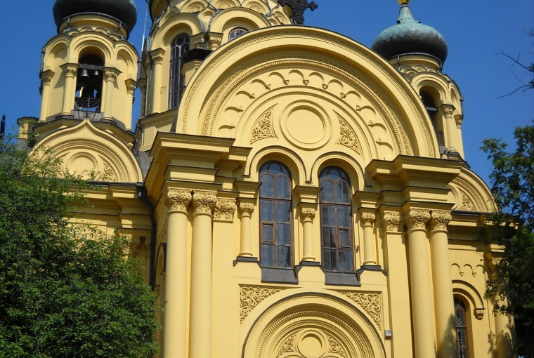 Główna prawosławna świątynia w Warszawie - Sobór św. Marii Magdaleny na Pradze
